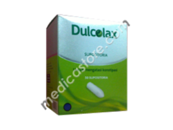 DULCOLAX 10MG SUPP ADULT 5,S