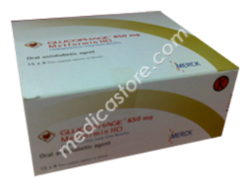 GLUCORED TABLET 100 S