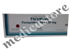 TICURING TABLET 250MG 20 S