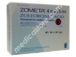 ZOMETA INFUSION 4 MG / 5 ML