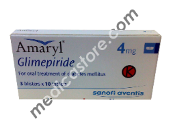 AMARYL M 1/250 MG TABLET 30 S*