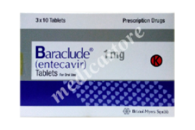 BARACLUDE TABLET 1 MG*