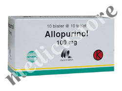 ALLOPURINOL 100 MG TABLET (IF)