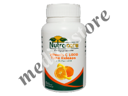 NUTRACARE VITAMIN C 1000 TIME RELEASE+BIOFLAVONOIDS