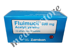 FLUIMUCIL 600 MG EFF.10 S