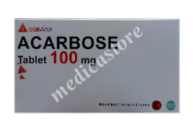 ACARBOSE 100MG TABLET 100 S