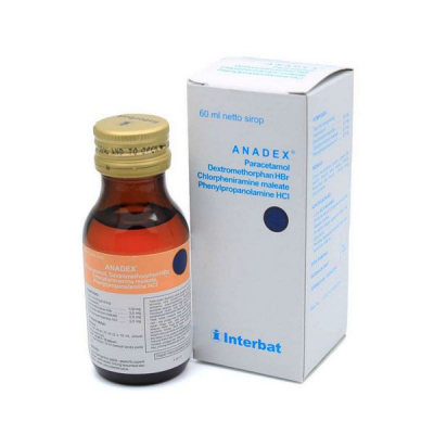 ANADEX SYRUP 60 ML