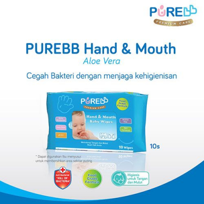 PUREBB CL WIPES 20 S LEMON