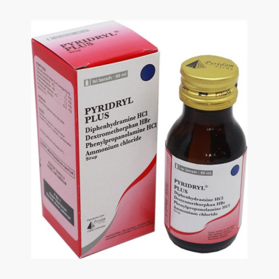 HOLIDRYL EXPECTORANT SYRUP 60 ML