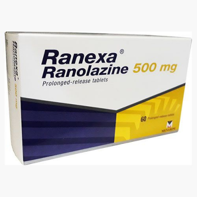 RANEXA 375MG TABLET 60 S
