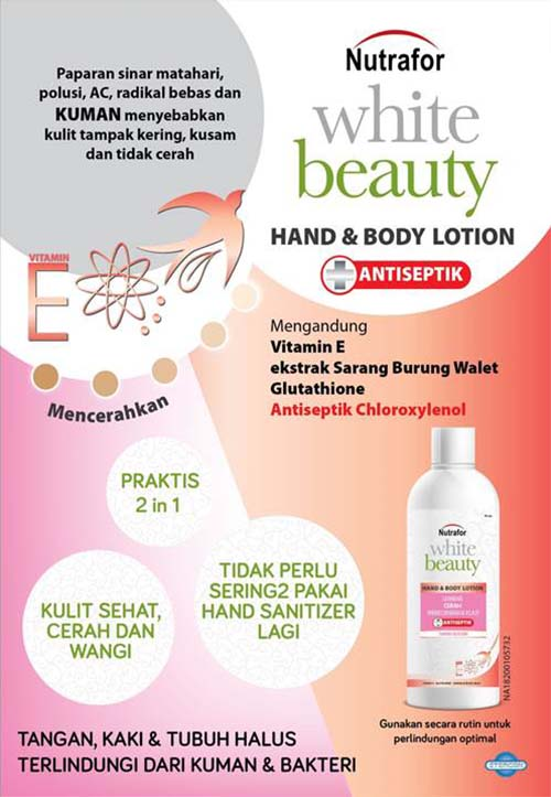Nutrafor White Beauty Hand & Body Lotion