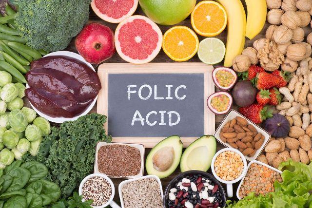 makanan sumber asam folat
