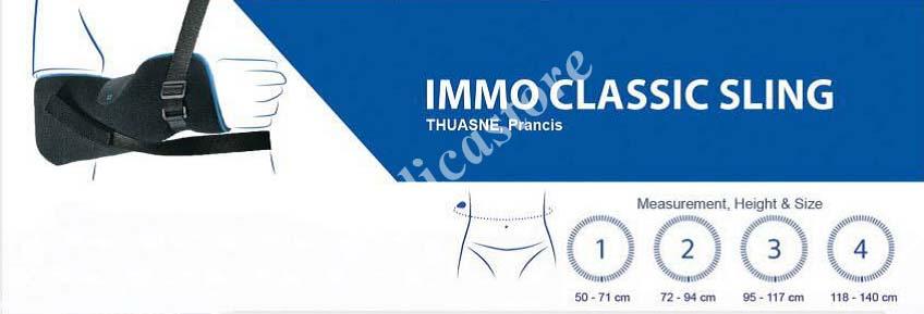 Tabel ukur Immo Classic Sling