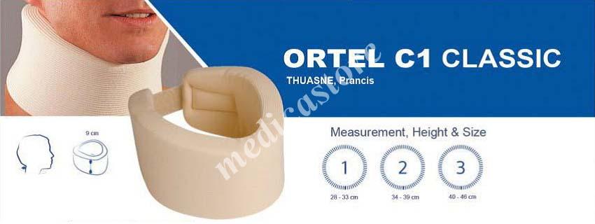 Tabel ukur Ortel C1 Classic
