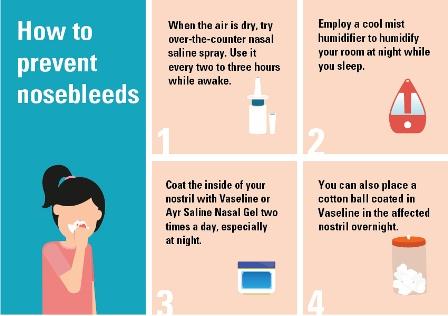 cara mencegah mimisan