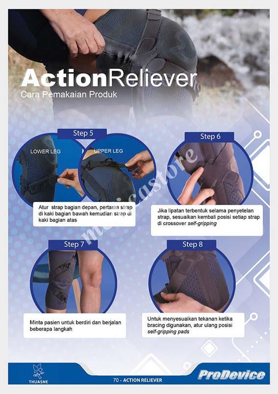 Cara pakai Action Reliever bagian 2