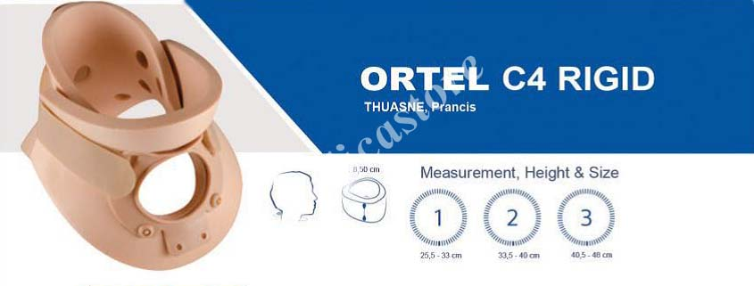 Tabel ukur Ortel C4 Rigid