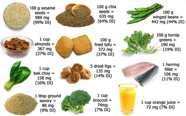 sumber kalsium untuk ibu hamil selain susu